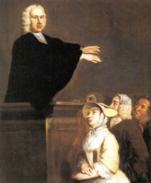 John Wollaston, George Whitefield Preaching, 1742
